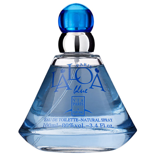 Laloa Blue Feminino Eau de Toilette - Via Paris