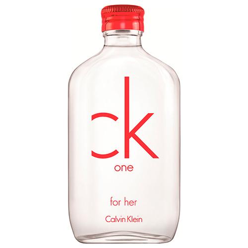 CK One Red Feminino Eau de Toilette - Calvin Klein