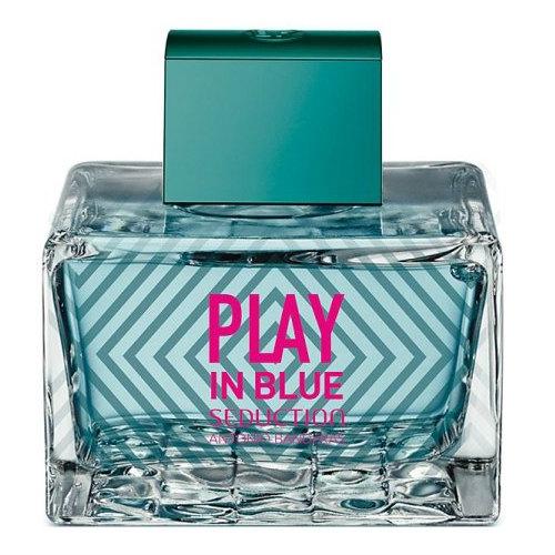 Play In Blue Seduction Feminino Eau de Toilette - Antonio Banderas