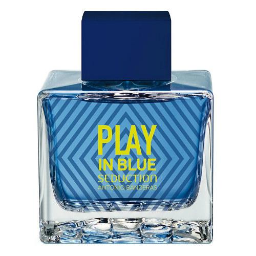 Play In Blue Seduction Masculino Eau de Toilette - Antonio Banderas