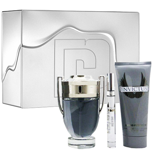 Kit Perfume Invictus 100ml + Shower Gel + Travel Size - Paco Rabanne
