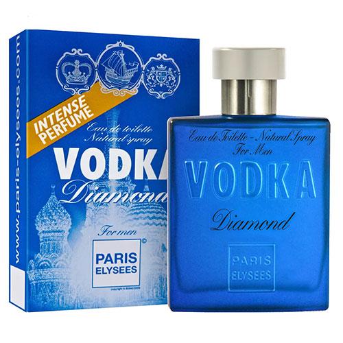 Vodka Diamond Masculino Eau De Toilette 100ml - Paris Elysees