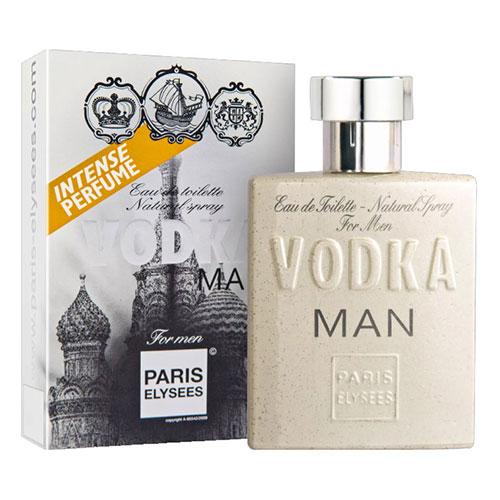 Vodka Man Masculino Eau De Toilette 100ml - Paris Elysees