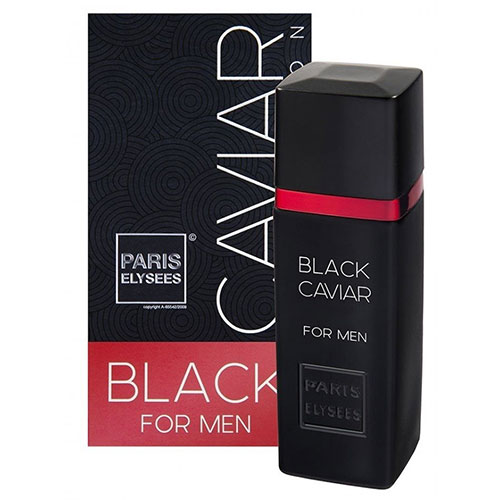 Black Caviar Masculino Eau De Toilette 100ml - Paris Elysees