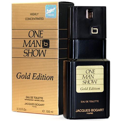 One Man Show Gold Masculino Eau de Toilette - Jacques Bogart