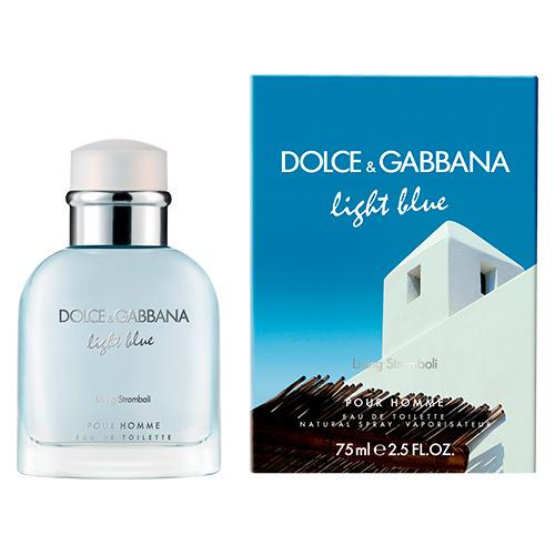 Light Blue Living Stromboli Masculino Eau de Toilette - Dolce & Gabbana