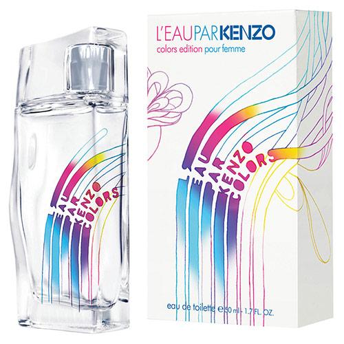 L'Eau Par Kenzo Colors Femme Feminino Eau de Toilette - Kenzo
