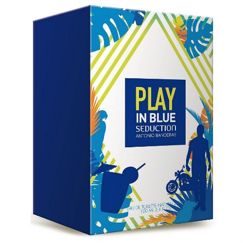 Play In Blue Seduction Masculino Eau de Toilette - Antonio Banderas