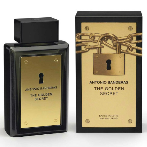 The Golden Secret Masculino Eau de Toilette - Antonio Banderas