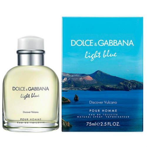 Light Blue Discover Vulcano Masculino Eau de Toilette - Dolce & Gabbana
