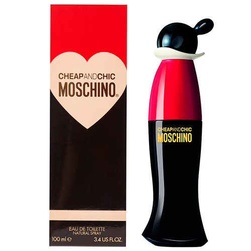 Cheap and Chic Feminino Eau de Toilette - Moschino