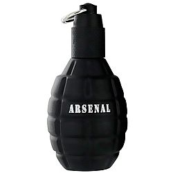 Arsenal Black Masculino Eau de Toilette - Gilles Cantuel